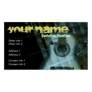GUITAR Art Fantasy Business card