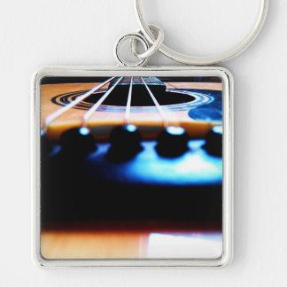 Guitar Art Keychain
