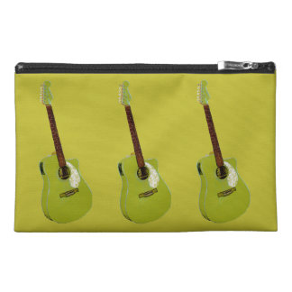 Guitar art print travel accessories bags