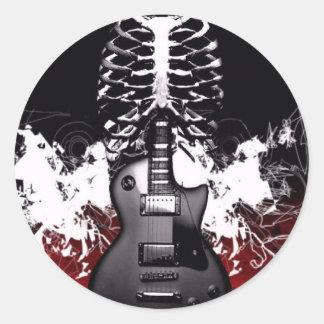 Guitar Art Stickers