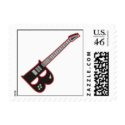 Guitar B Stamps