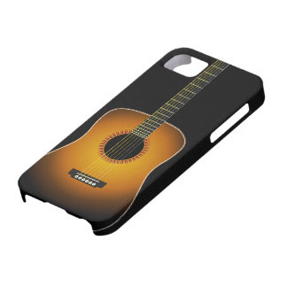 Guitar Background iPhone 5 Cover
