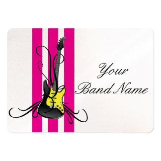 Guitar Band card