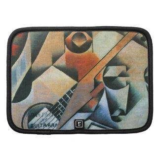 Guitar (Banjo) Glasses, Juan Gris, Vintage Cubism Organizers