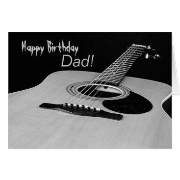 siberianmom Guitar Birthday Card for Dad