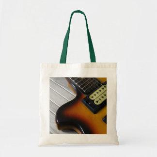 Guitar Budget Tote Bag