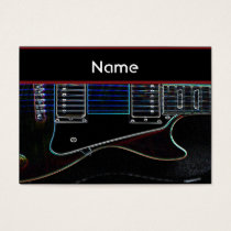 Guitar Business card