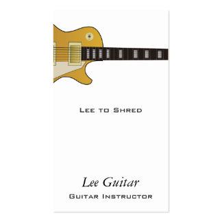 Guitar Business Card Template