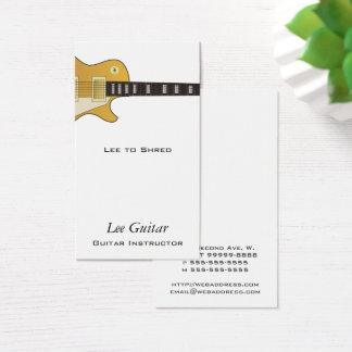Guitar Business Card