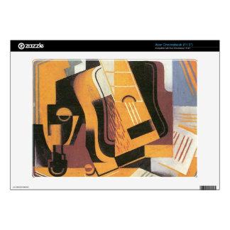 Guitar by Juan Gris Acer Chromebook Decal
