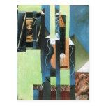Guitar by Juan Gris Post Cards