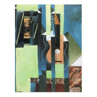 Guitar by Juan Gris Postcard