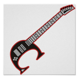 Guitar C Poster