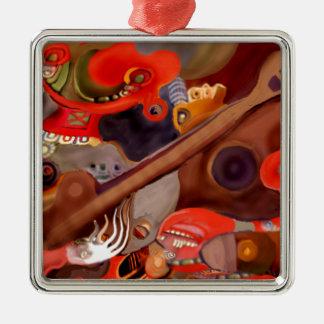 Guitar Chaman by Albruno* Metal Ornament