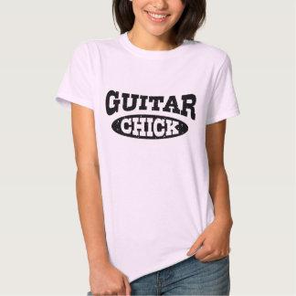 Guitar Chick Tee Shirt