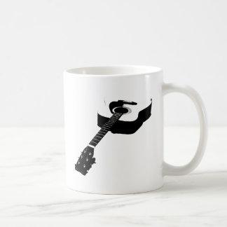 Guitar Classic White Coffee Mug