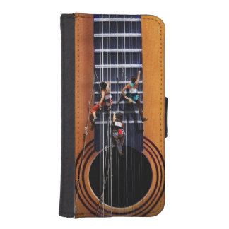 Guitar Climbers iPhone 5/5s Wallet Case iPhone 5 Wallets