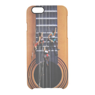 Guitar Climbers iPhone 6 Case Uncommon Clearly™ Deflector iPhone 6 Case