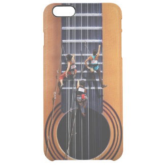 Guitar Climbers iPhone 6 Plus Case Uncommon Clearly™ Deflector iPhone 6 Plus Case