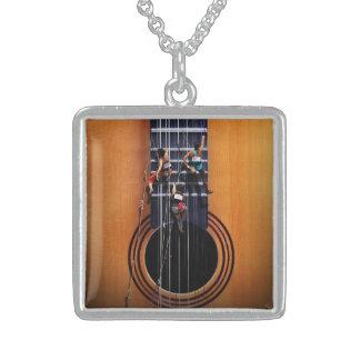 Guitar Climbers Necklace