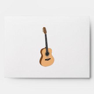 Guitar clipart envelope