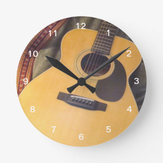 guitar clock