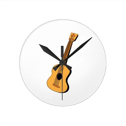 Guitar Clocks