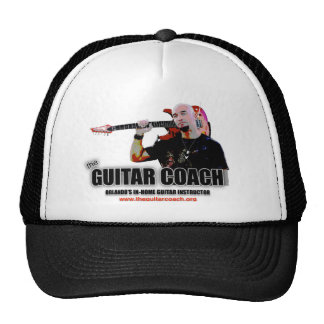 Guitar Coach Trucker Hat