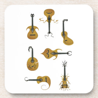 Guitar Collection Drink Coaster