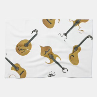 Guitar Collection Hand Towel