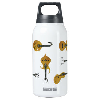 Guitar Collection Thermos Water Bottle