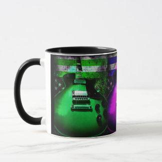 Guitar Colorful Music Rock n Roll Coffee Tea Drink Mug