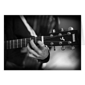 Guitar Customizable Card