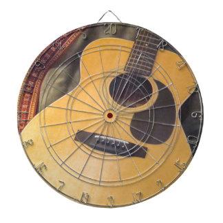 guitar dart board