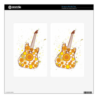 Guitar Decals For Kindle Fire
