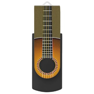 Guitar Design Flash Drive