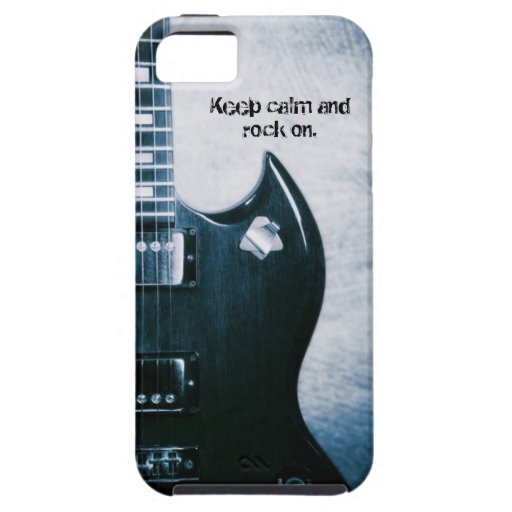 Guitar Design iPhone 5 Vibe Case iPhone 5 Case