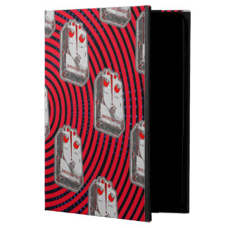 Guitar Distortion Pedal -Red/Grey iPad Air Cover