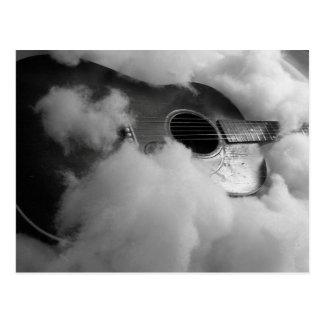 guitar dreams Postcard