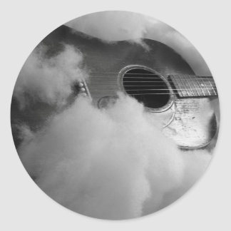 guitar dreams Sticker