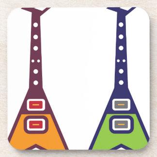 Guitar Electro Beverage Coaster