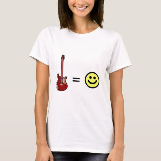 Guitar Equals Happiness T-Shirt