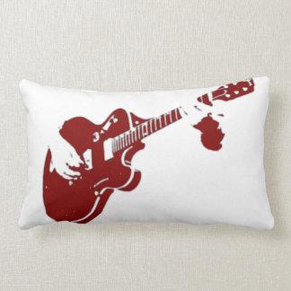 Guitar Expert Throw Pillow