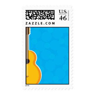 Guitar Frame Postage Stamp
