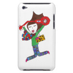 guitar girl on ipod touch case