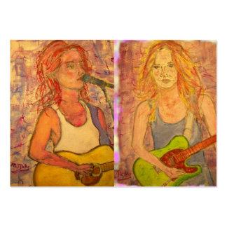 Guitar Girls Business Card