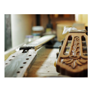 Guitar grips repairing shallow dof postcard