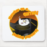 Guitar Hamster Mouse Pad