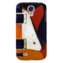 Guitar handle 3 casing samsung galaxy s4 cover