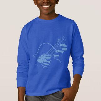 Guitar Hands II -blu T-Shirt
